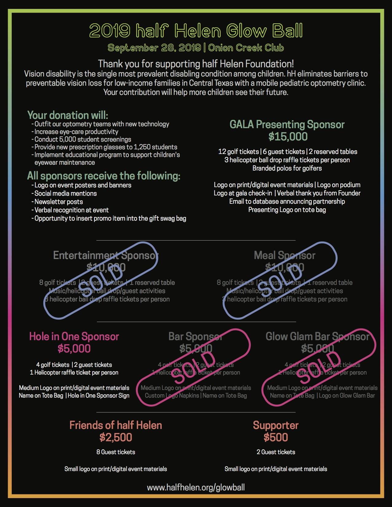 Sponsor | Half Helen Foundation